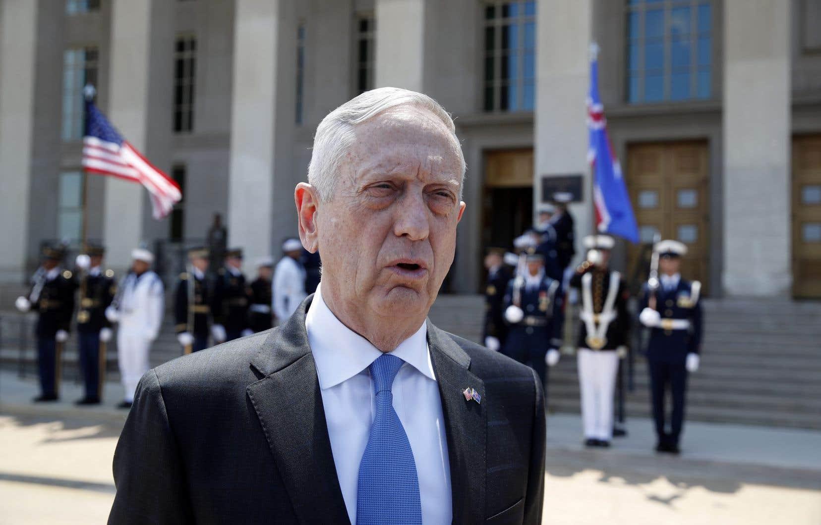 «C'est un processus démocratique à un moment où beaucoup de gens ont douté du fait que l'Irak pouvait se prendre en main», a dit le ministre américain de la Défense, Jim Mattis.