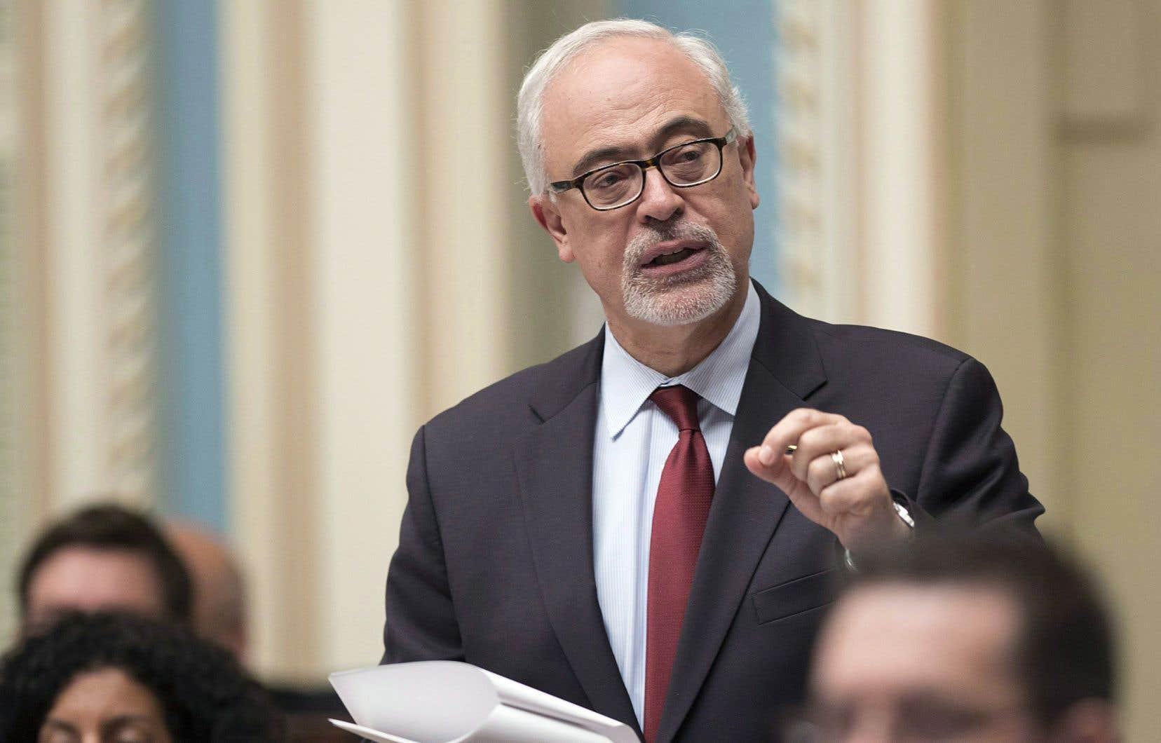 Le ministre des Finances du Québec, Carlos Leitão,escompte des recettes fiscales supplémentaires de quelque 85 millions de dollars par année, «à terme».