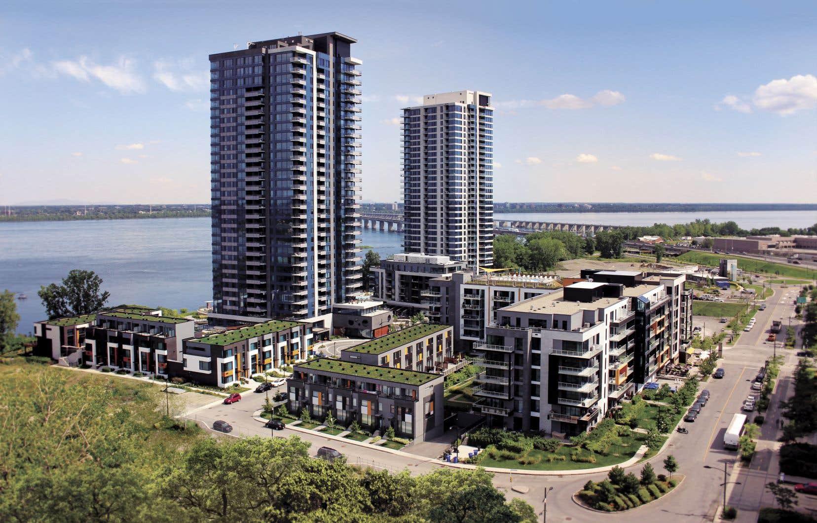 Le projet MYX s'insère dans un quartier réfléchi, développé en collaboration avec l'arrondissement de Verdun.