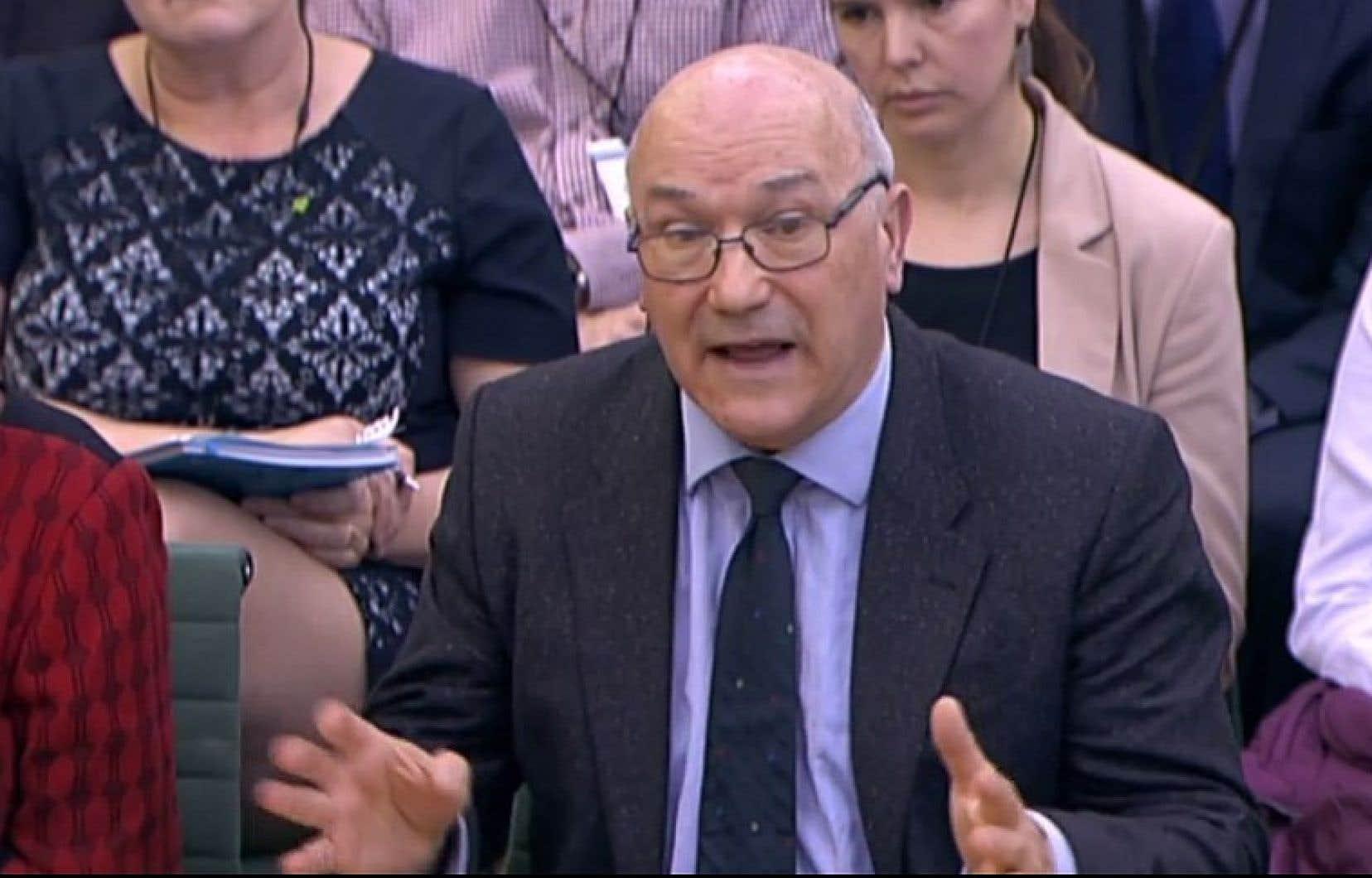 Le directeur général d'Oxfam GB, Mark Goldring