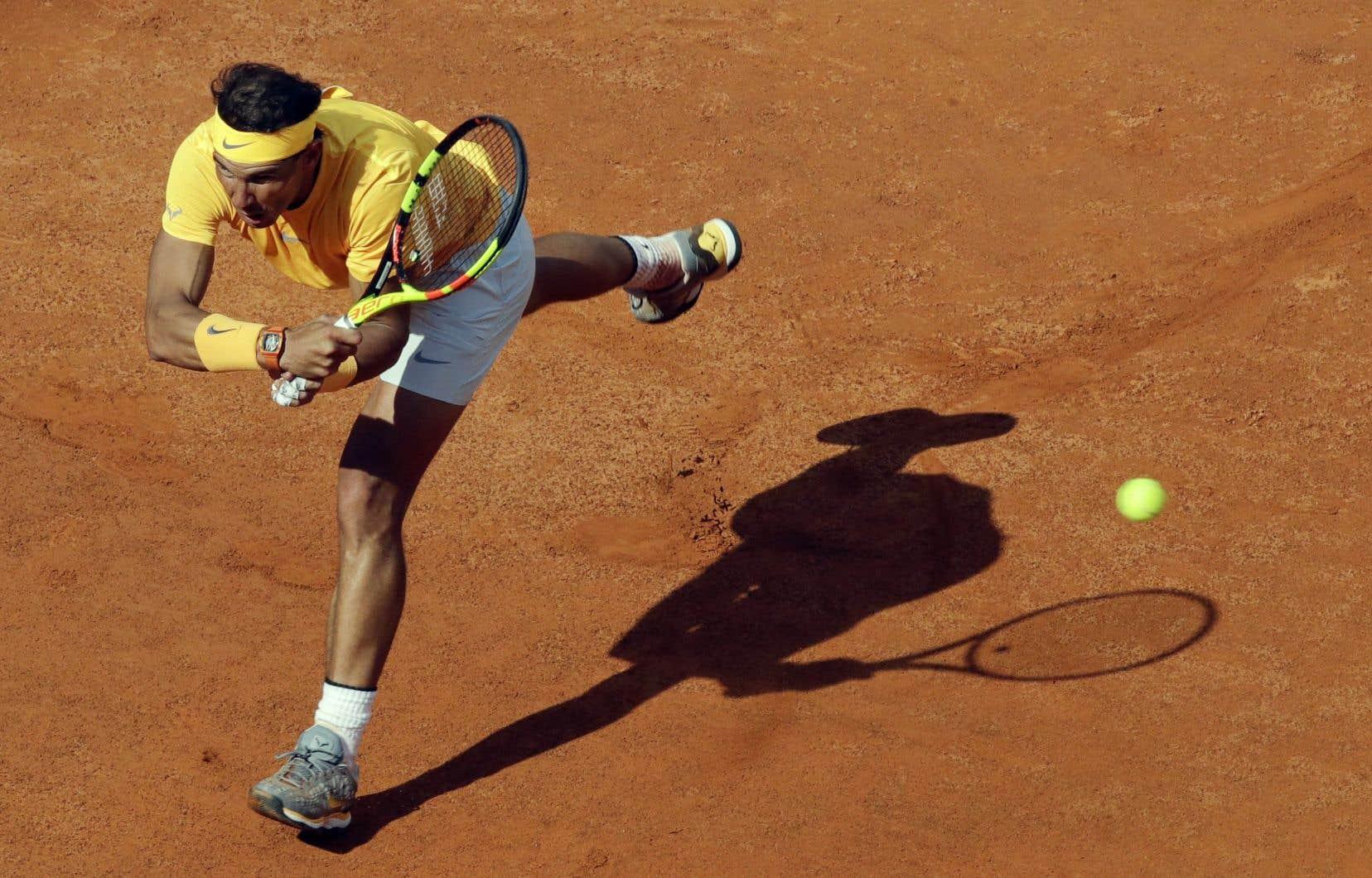 Nadal tente de retourner au premier rang mondial cette semaine.