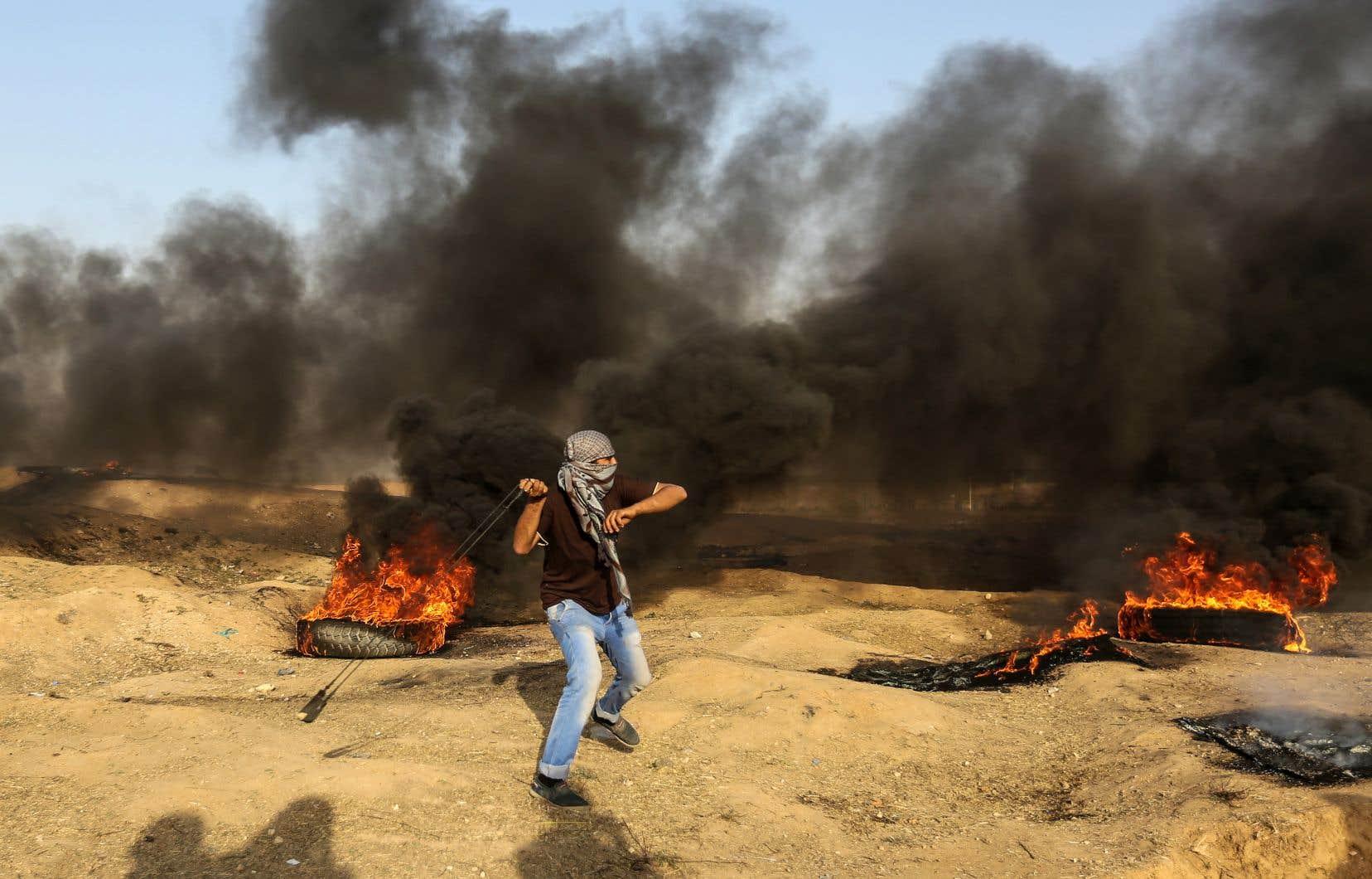 Quelque 60 Palestiniens sont morts lundi sous les balles israéliennes alors qu'ils manifestaient dans la bande de Gaza contre le transfert de l'ambassade américaine de Tel-Aviv à Jérusalem.
