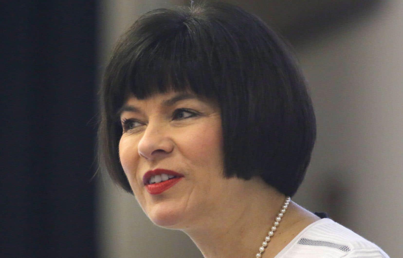 La ministre fédérale de la Santé, Ginette Petitpas Taylor