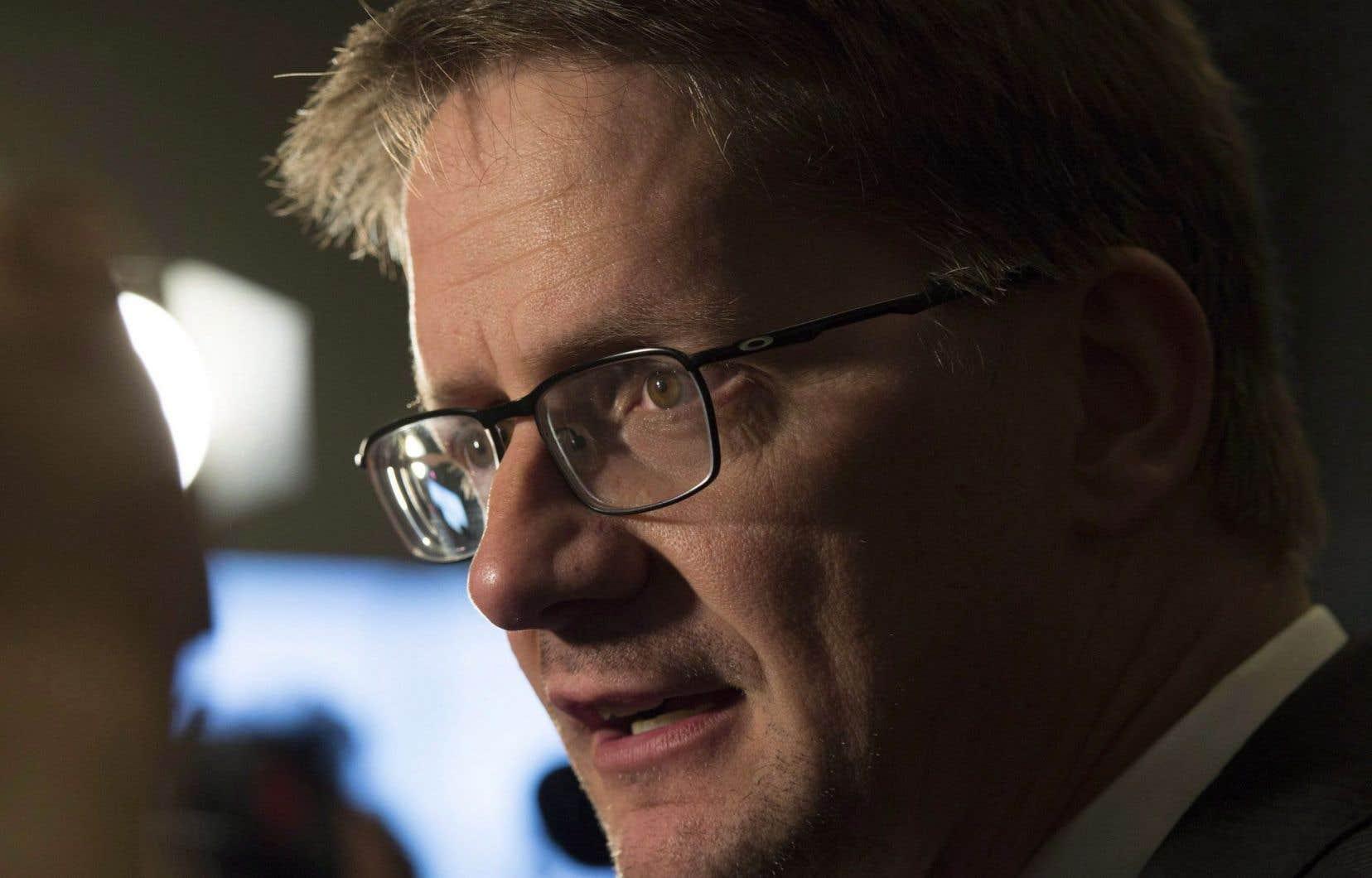 Le député péquiste de Jonquière, Sylvain Gaudreault