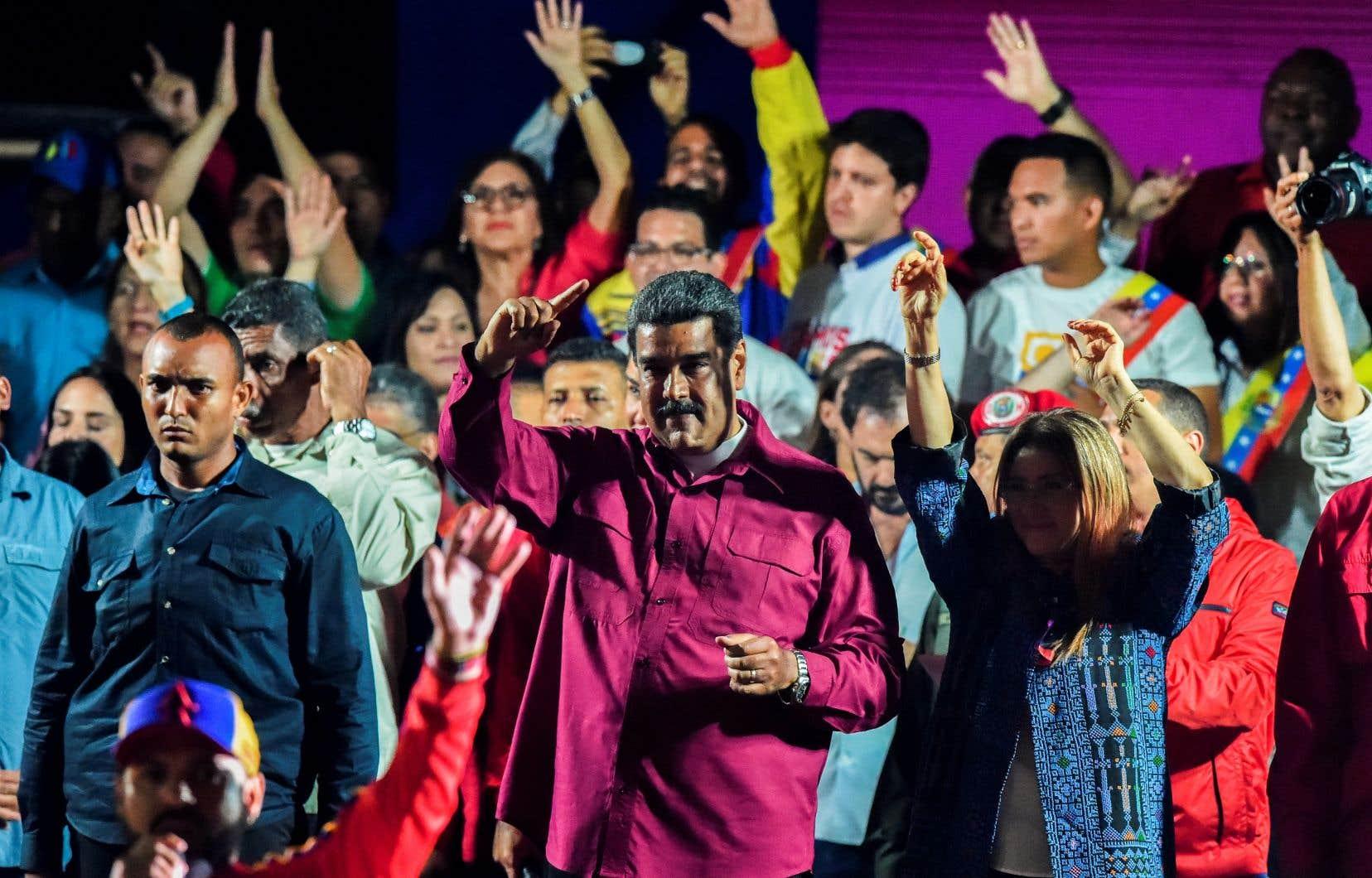Les récents résutats devraient permettre à Nicolas Maduro de demeurer à la tête du pays jusqu'en 2025.