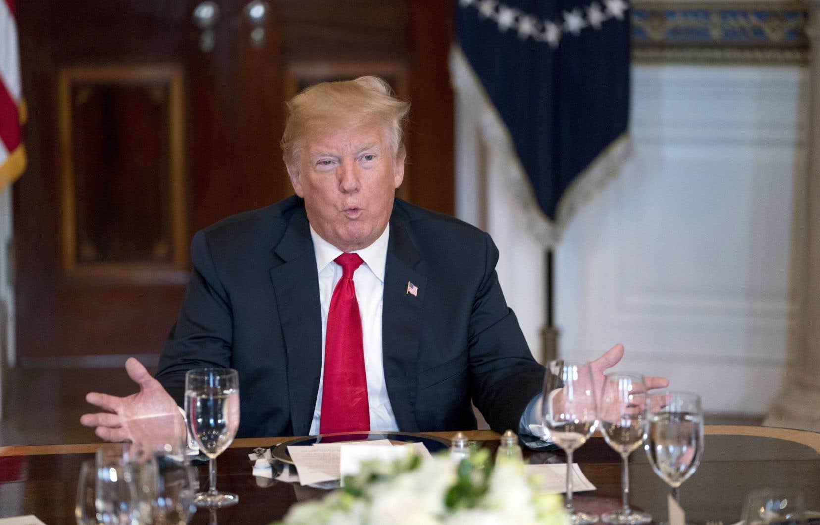 C'est la première fois que le président américain, Donald Trump, évoque ouvertement un possible report de ce face-à-face historique.