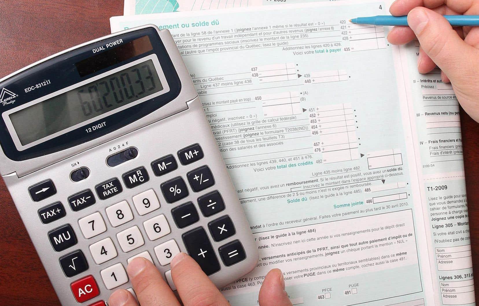 Les députés québécois souhaiteraient que la gestion d'une déclaration de revenus unique soit rapatriée au gouvernement du Québec.