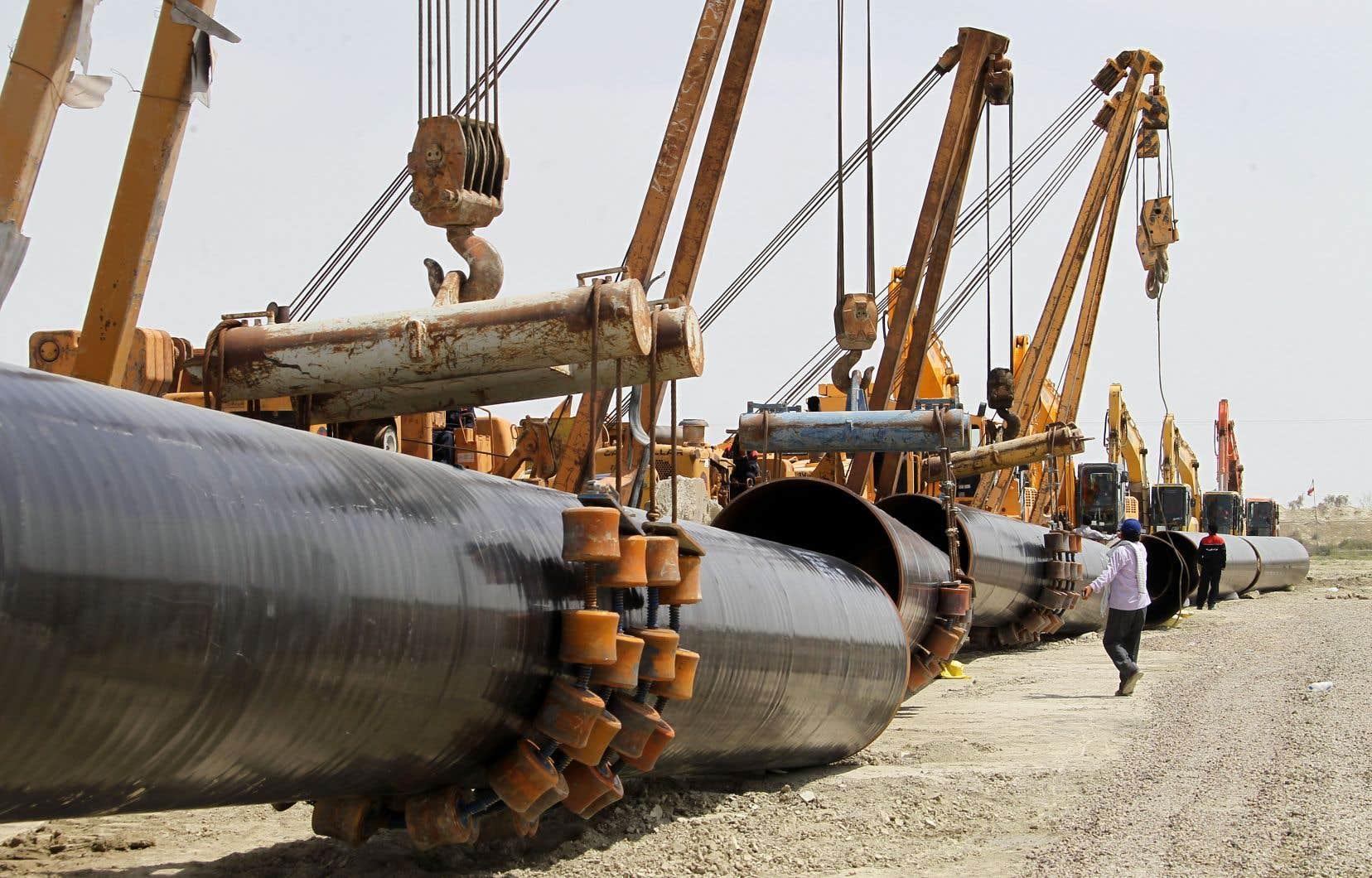 Téhéran possède les plus importantes réserves gazières au monde après la Russie. Elles sont estimées à 191 trillions de mètres cubes.