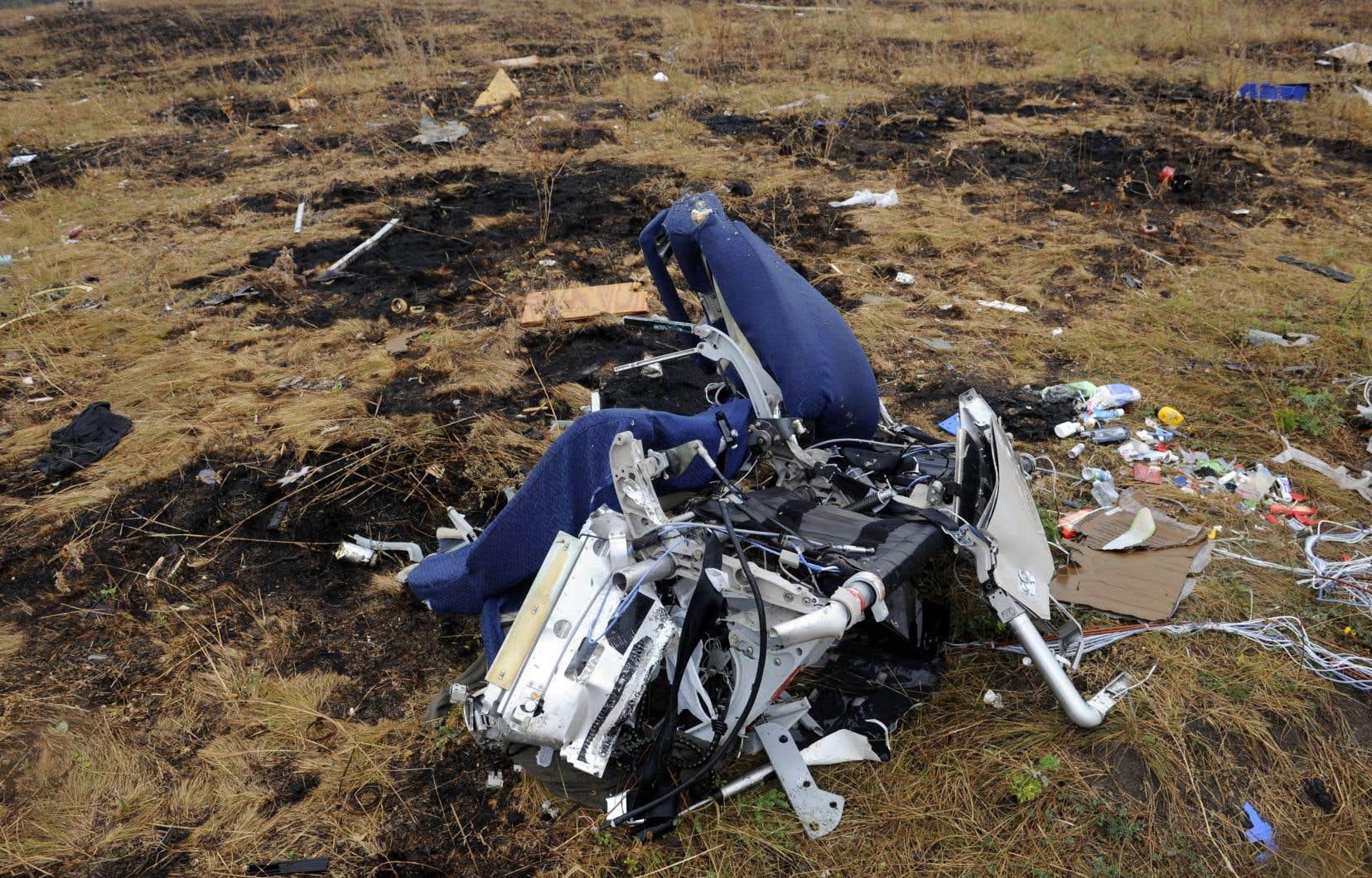 Le vol MH17 a été abattu par un missile au-dessus de l'Ukraine en 2014.