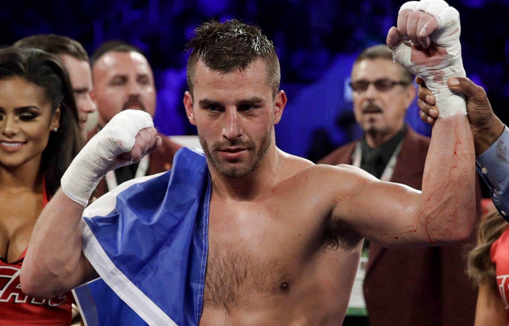 Le boxeur québécois David Lemieux
