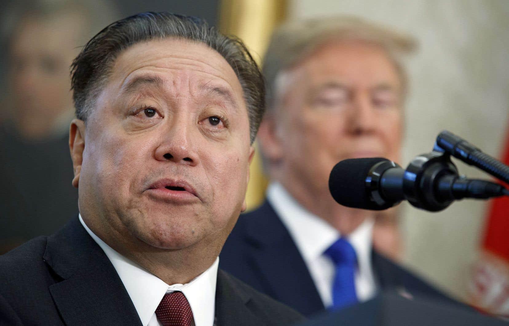 Le p.-d.g. le mieux payé serait Hock Tan (notre photo) de Broadcom, qui a empoché 103,2millions.
