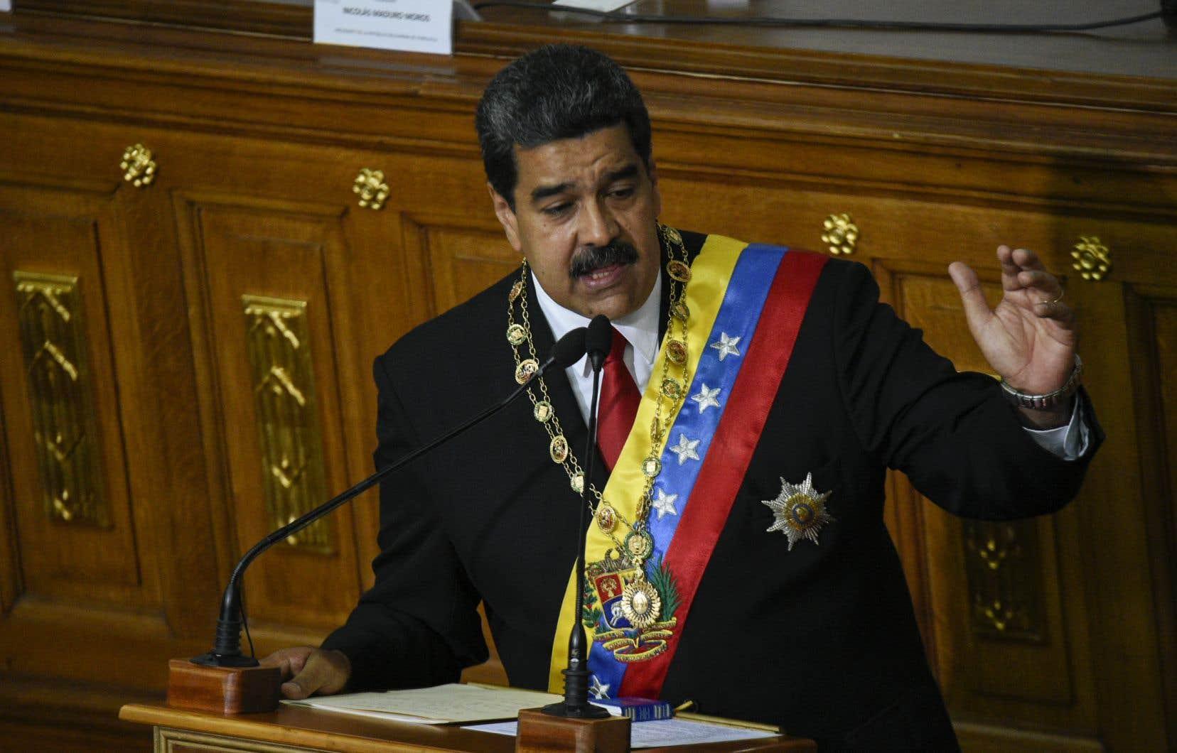 La semaine a été marquée par un durcissement du ton des États-Unis envers le Venezuela depuis la réélection de Nicolas Maduro.