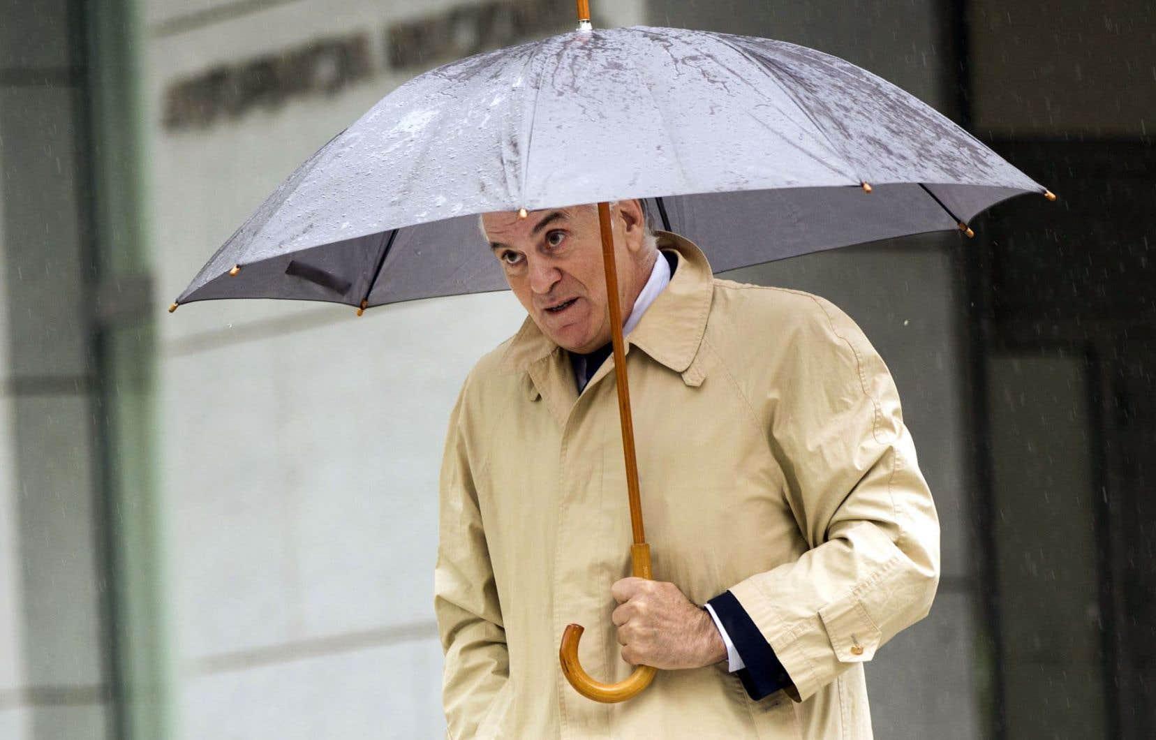 L'ancien trésorier du Parti populaire, Luis Bárcenas, a été condamné à 33 ans de prison.