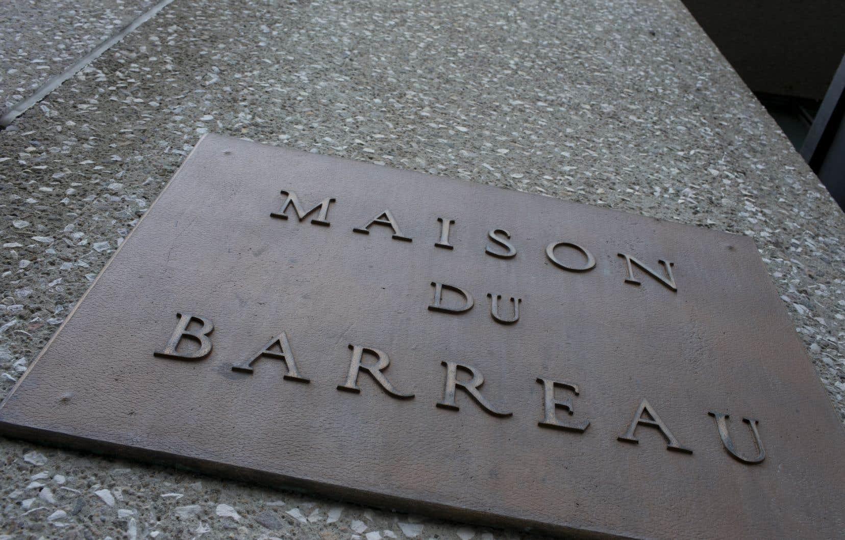 Si le Barreau de Montréal choisit d'aller de l'avant, ce sera contre les conclusions d'un avis juridique qu'il avait commandé en mars 2017.