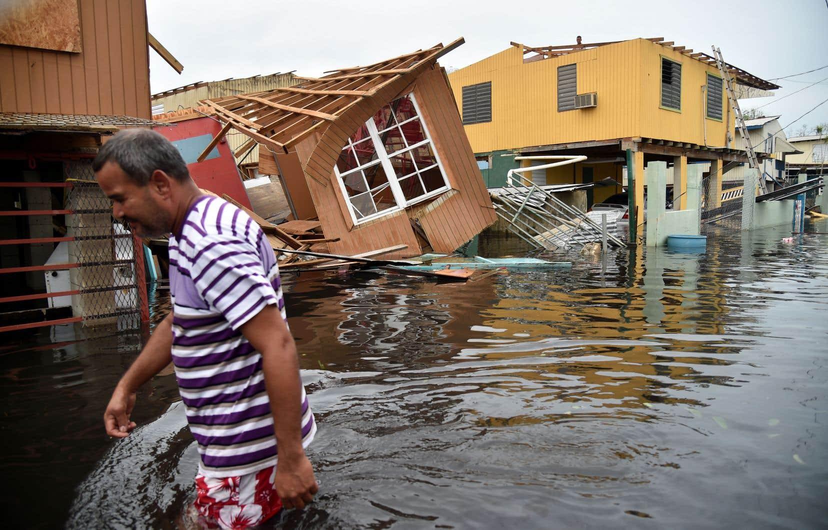 «Maria» avait frappé Porto Rico le 20 septembre dernier, lors d'une saison2017 record pour les ouragans.