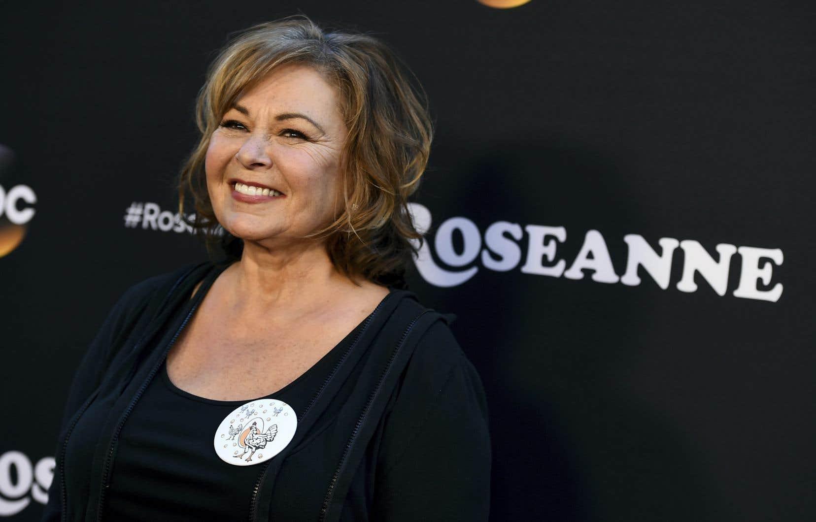 La créatrice et vedette de l'émission «Roseanne», Roseanne Barr