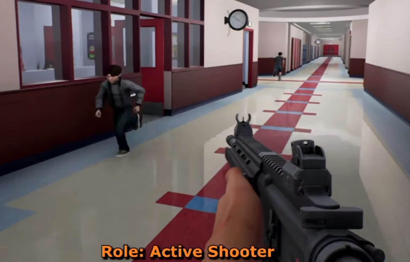 «Active Shooter»propose aux joueurs d'endosser le rôle soit du tireur, soit des policiers d'intervention.