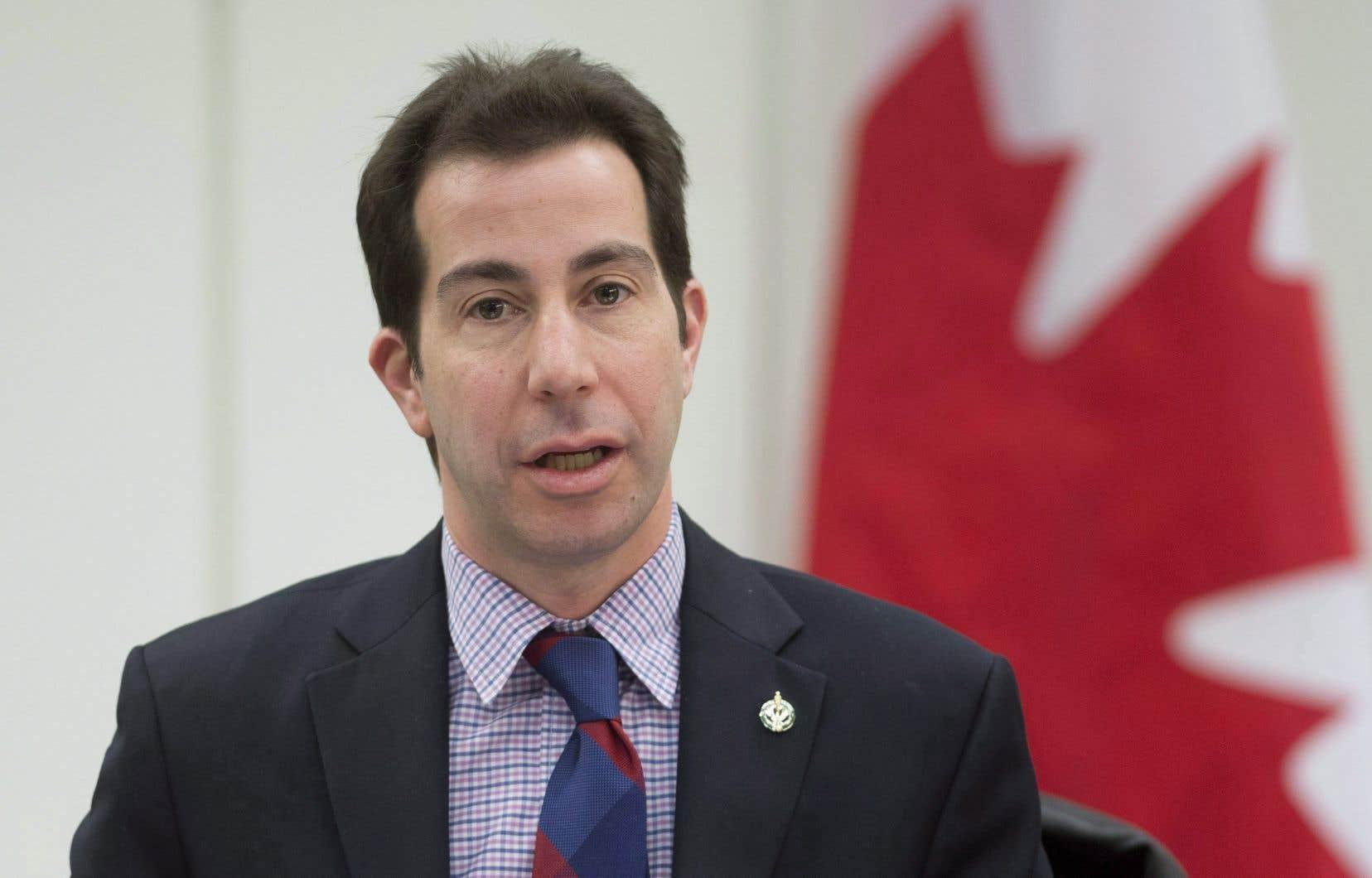 Le député libéral Anthony Housefather