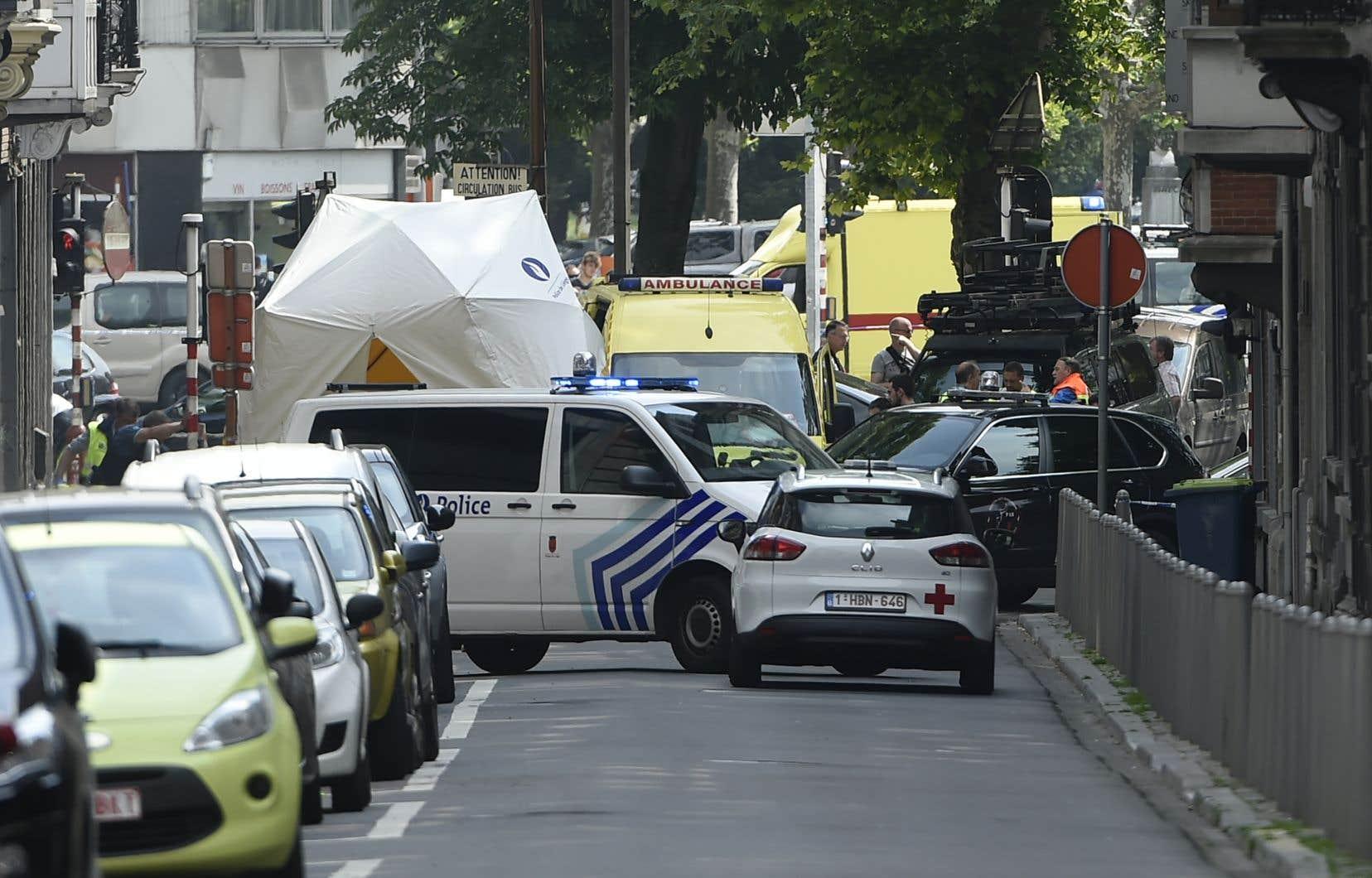 L'attaque a fait trois morts mardi à Liège.