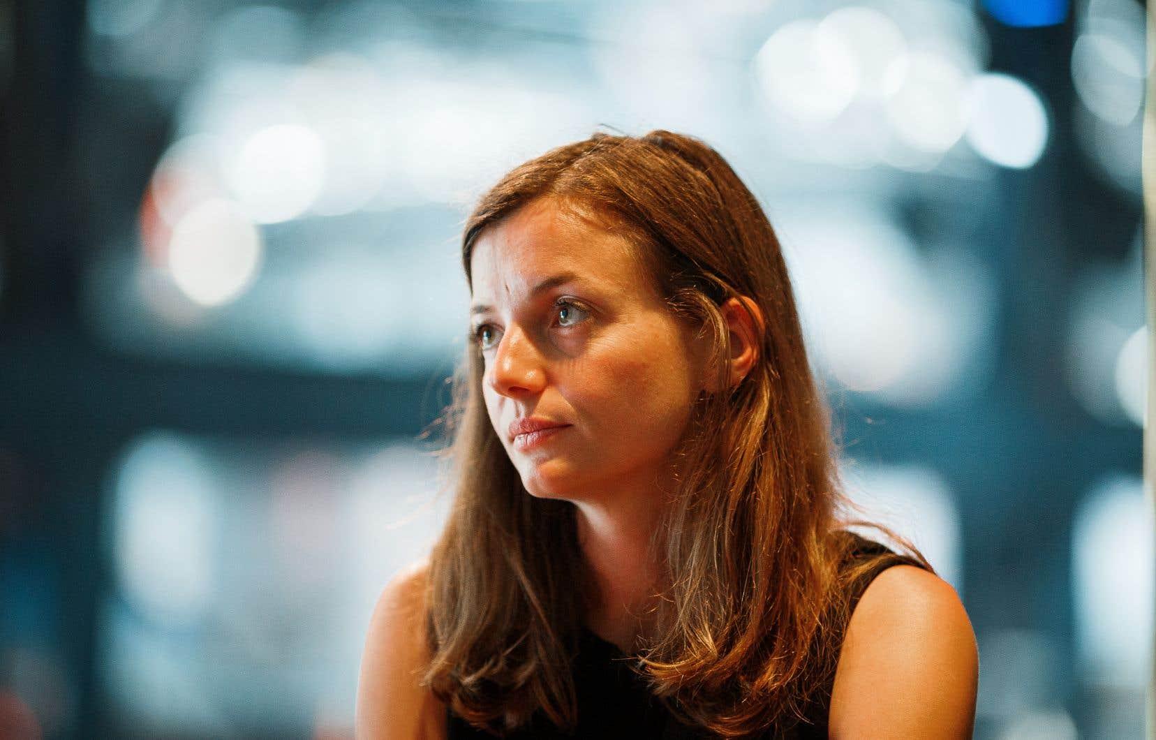 Laetitia Vasseur a cofondé l'association HOP (pour «halte à l'obsolescence programmée») en 2015.