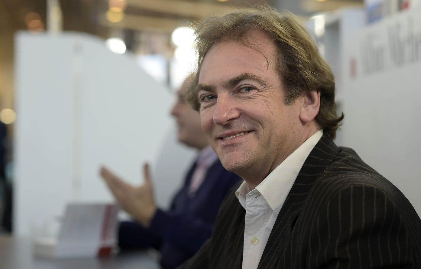 Le romancier Didier van Cauwelaert