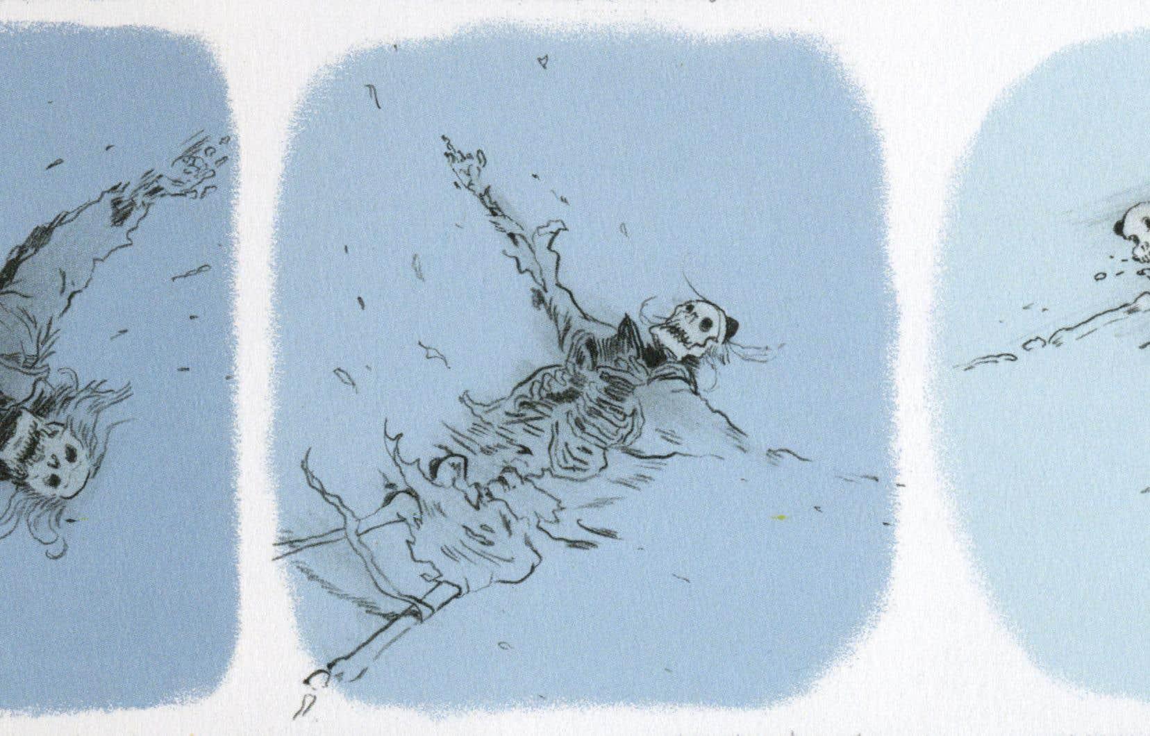 Illustration tirée de «The End», de Zep