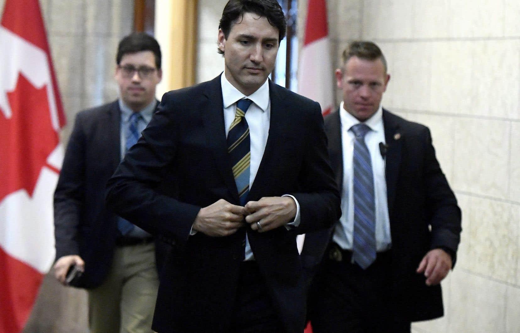 M. Trudeau dit vouloir respecter la période de consultation de 30 jours prévue pour discuter de la proposition de son gouvernement.