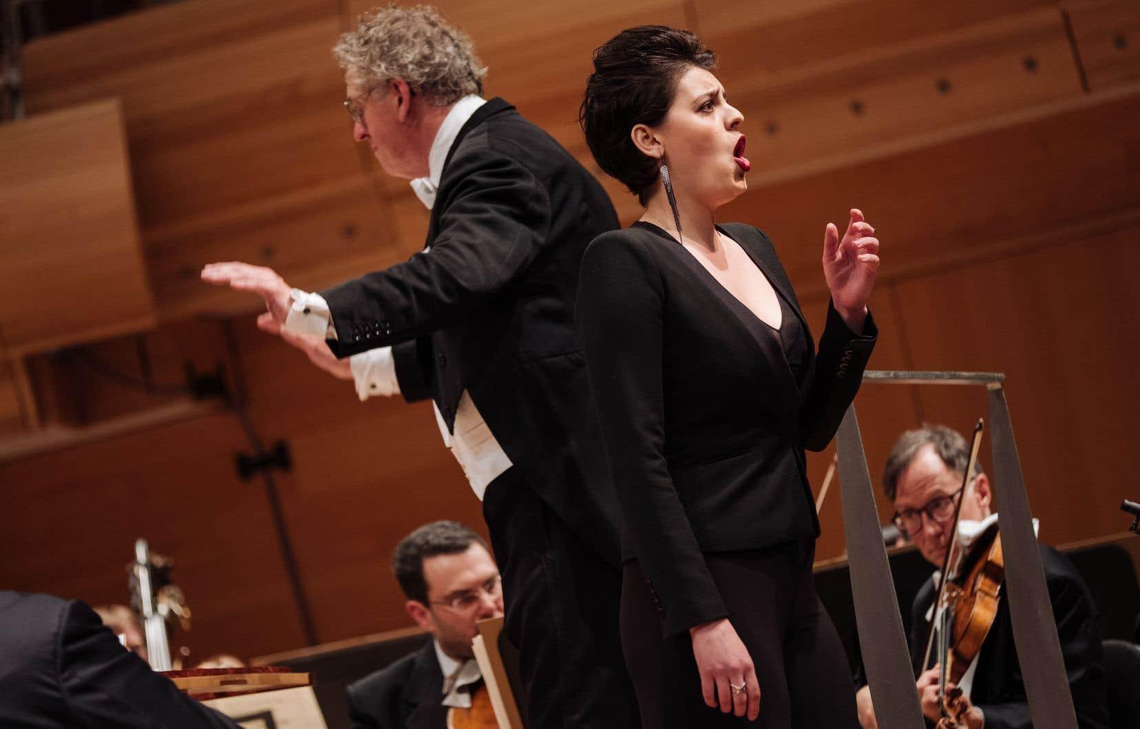 La mezzo-soprano canadienne Emily D'Angelo, lundi soir, à la Maison symphonique de Montréal