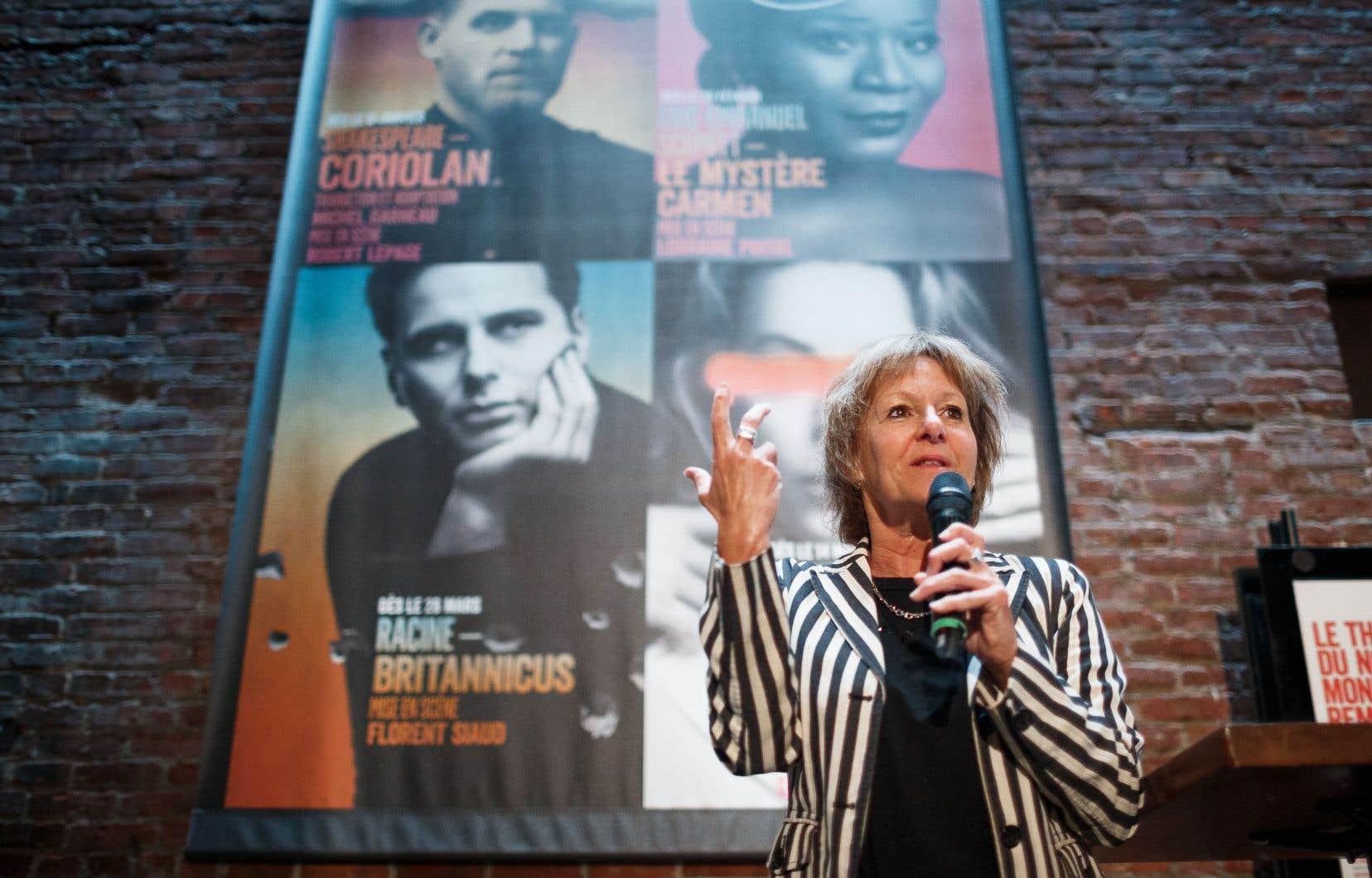 «C'est la première fois qu'un auteur fait un don semblable à un lieu culturel», a estimé Lorraine Pintal mardi.