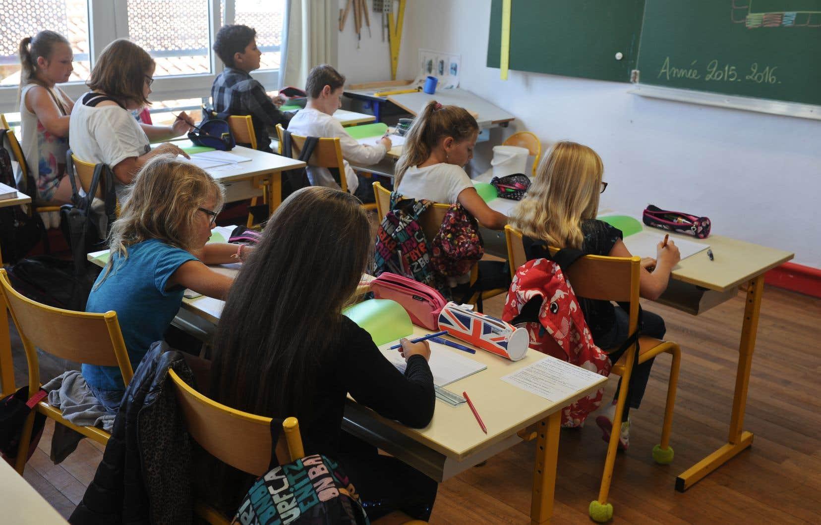 Cette année, un prof sur dix (11%) rapporte avoir subi des pressions de sa direction d'école pour modifier des notes d'élèves.