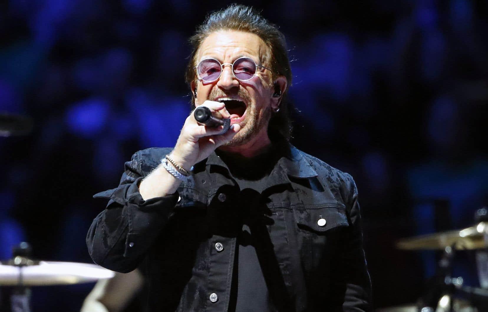 U2 Au Centre Bell L Accueil Bono Des Riches Le Devoir