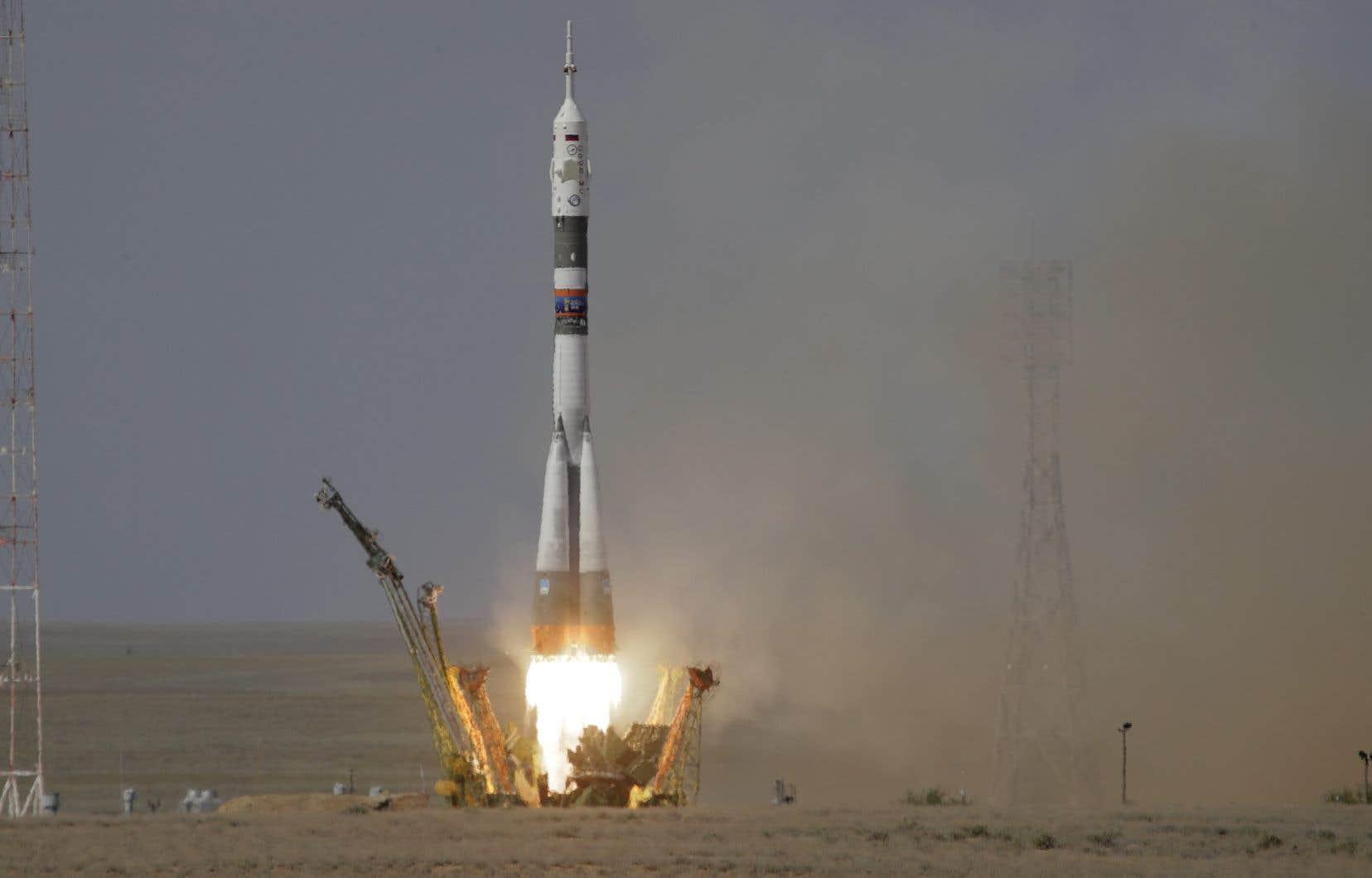 Les astronautes devraient arriver à l'ISS vendredi pour une mission d'environ cinq mois nommée <em>Horizons</em>.