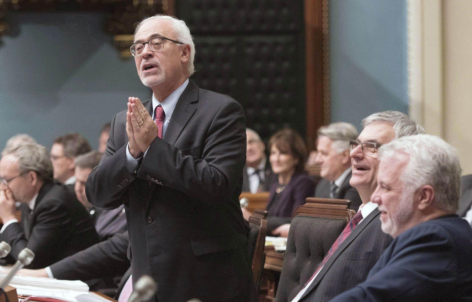 Le ministre des Finances, Carlos Leitão, a invoqué un manque de temps pour terminer le peaufinage du projet de loi 141 avant la fin de la session parlementaire.