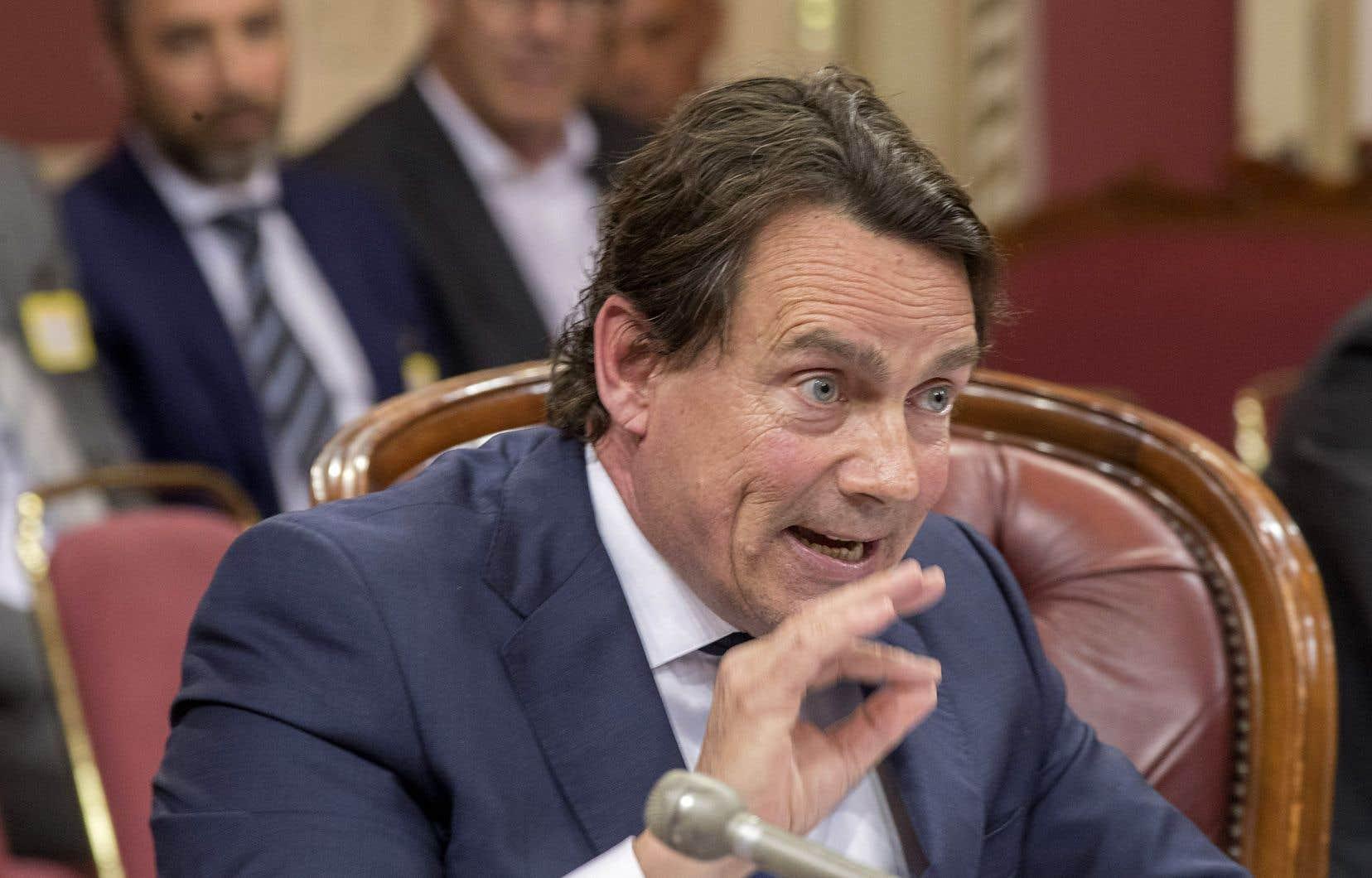 L'ex-chef du Parti québécois a été l'un des nombreux intervenants à défiler en commission parlementaire mercredi.