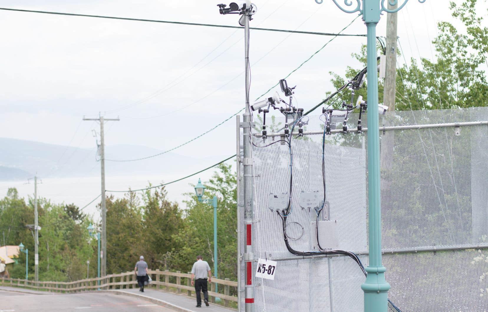 La sécurité est omniprésente à La Malbaie, à l'approche du G7.