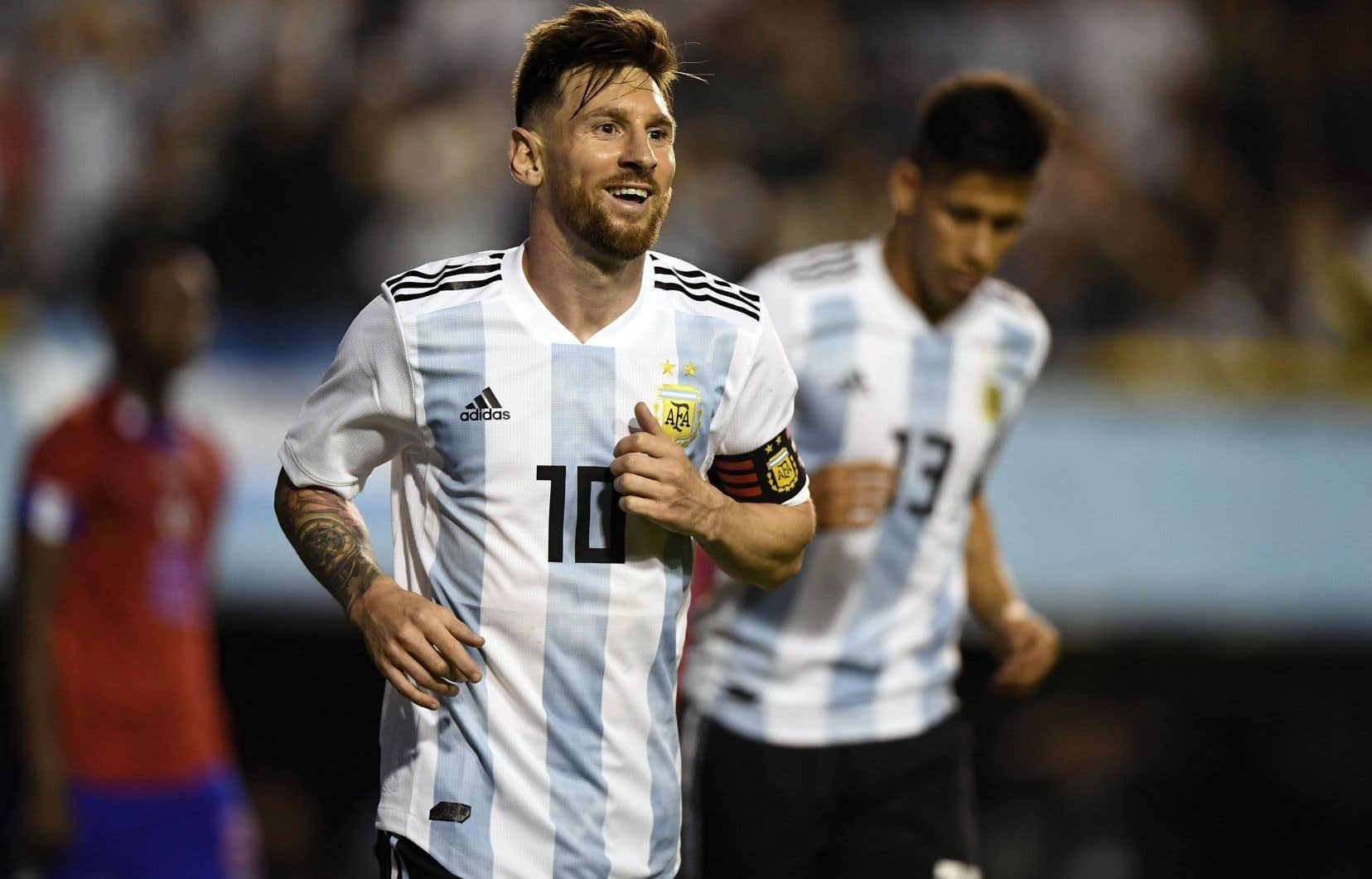Selon l'État hébreu, le champion argentin Lionel Messi, entre autres, a cédé aux admonestations palestiniennes.