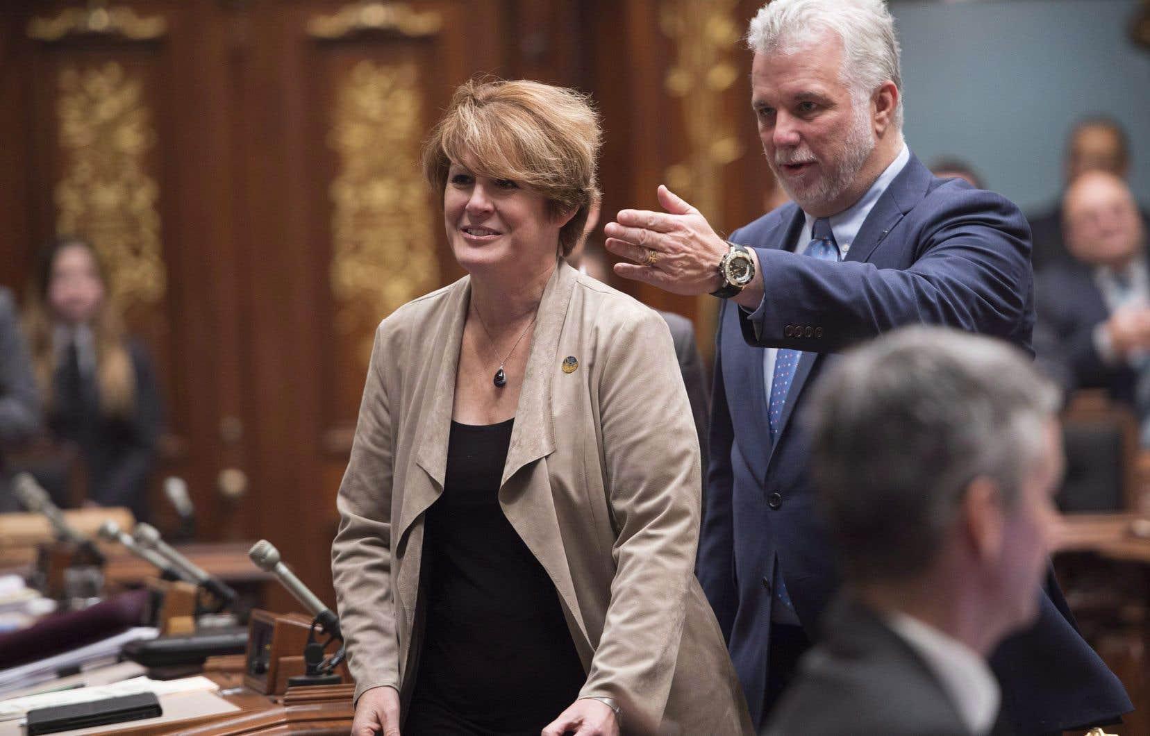 La députée libérale de Fabre, Monique Sauvé