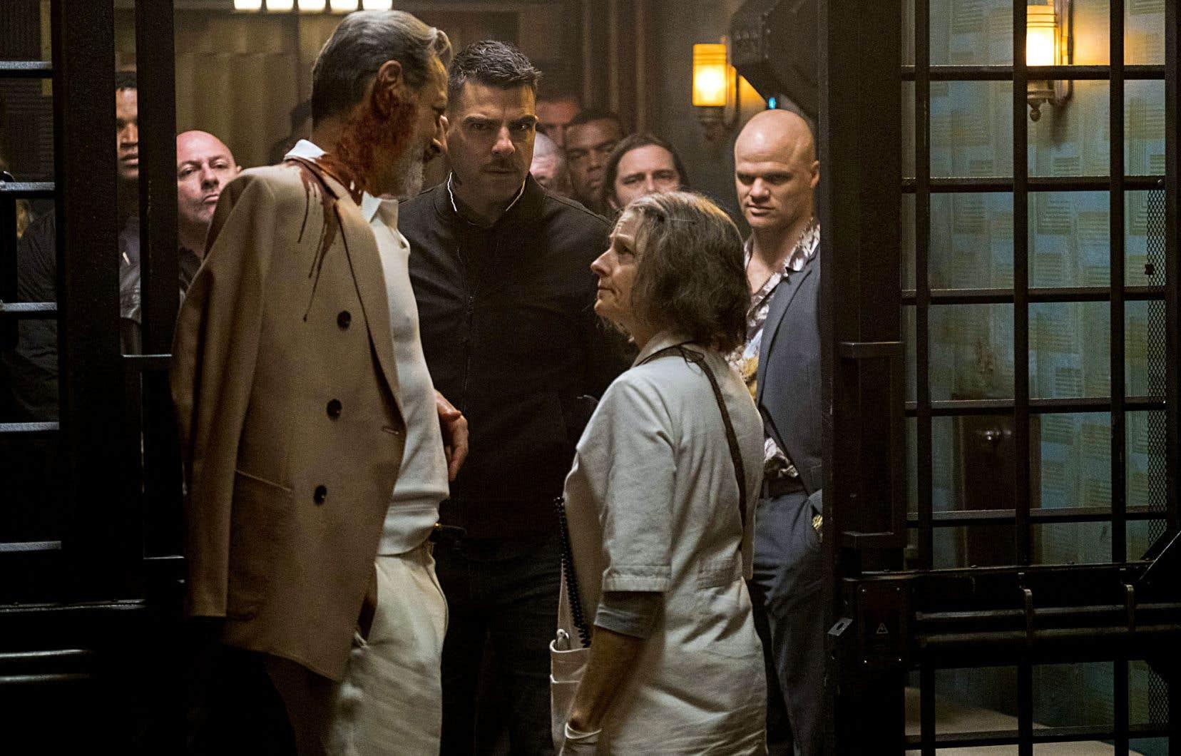 «Hotel Artemis» est dominé par la détermination farouche de Jodie Foster.