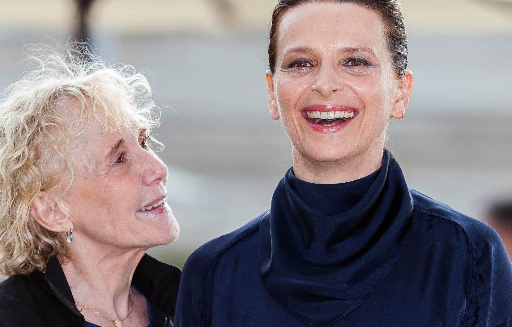 La cinéaste Claire Denis et l'actrice Juliette Binoche ont présenté «Un beau soleil intérieur» au Festival du film francophone d'Angoulême en août dernier. C'est la première fois que les deux artistes tournaient ensemble.