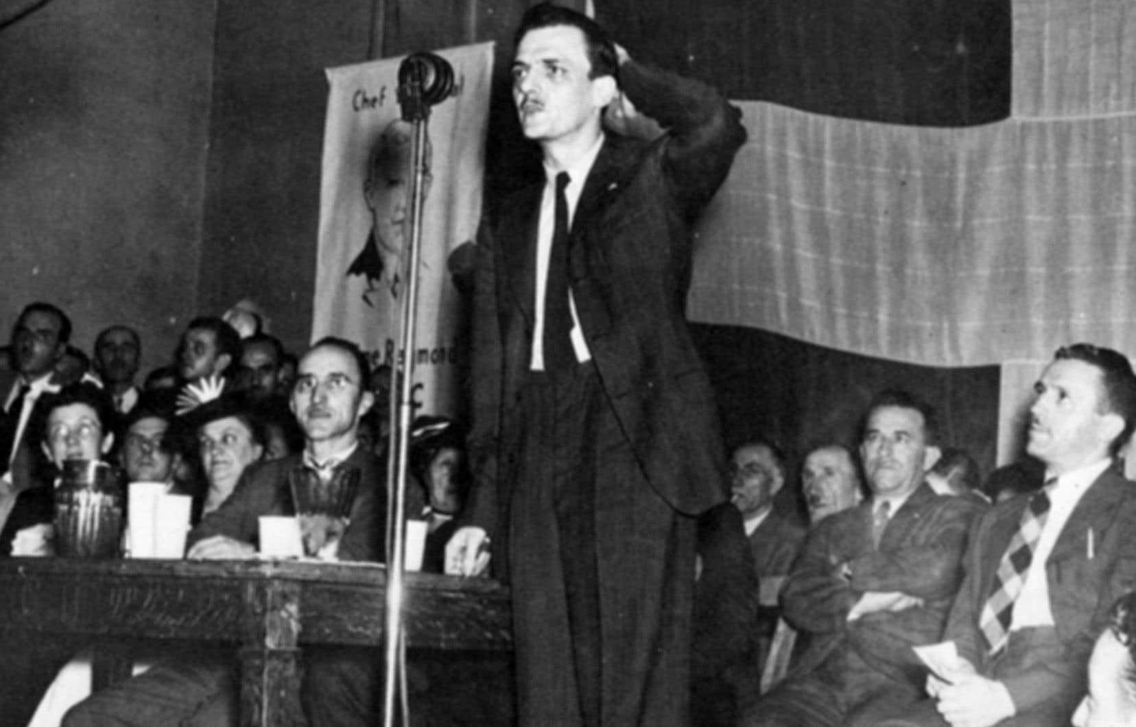 L'ancien rédacteur en chef du «Devoir», André Laurendeau