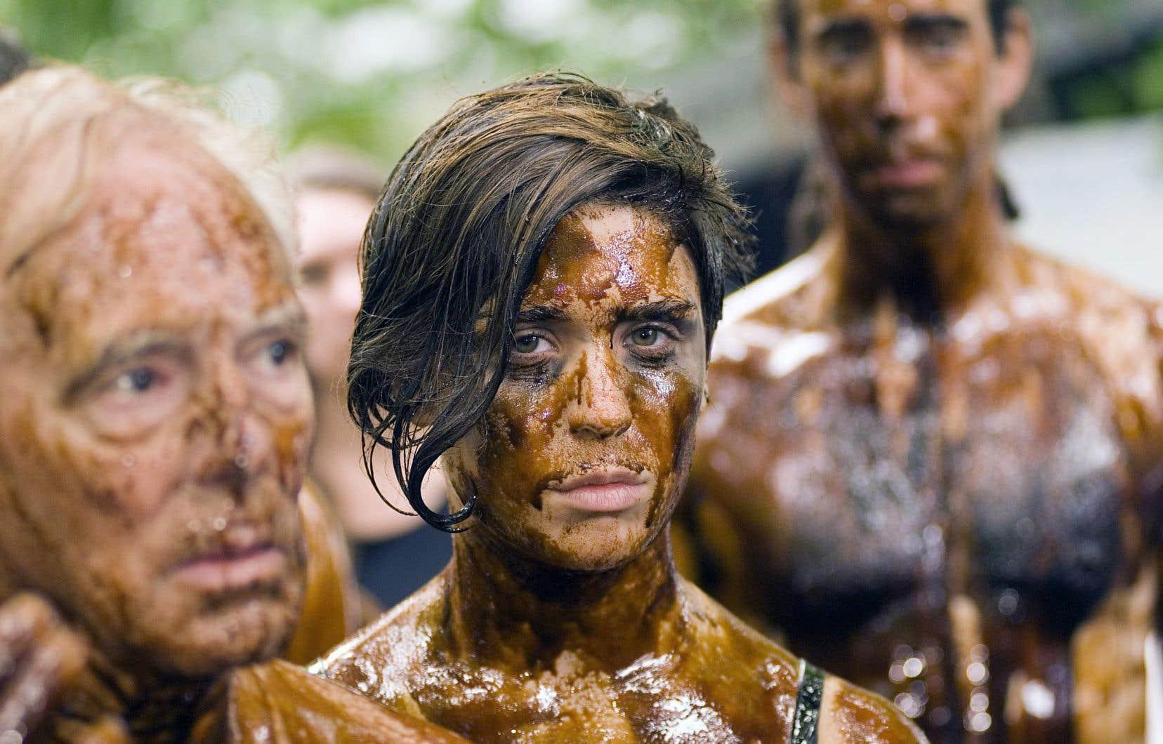 En septembre 2010, quelques mois après l'annonce de MmeNormandeau, la contestation contre les gaz de schiste battait son plein. Sur notre photo, une manifestation organisée par la coalition Vigilance énergie.