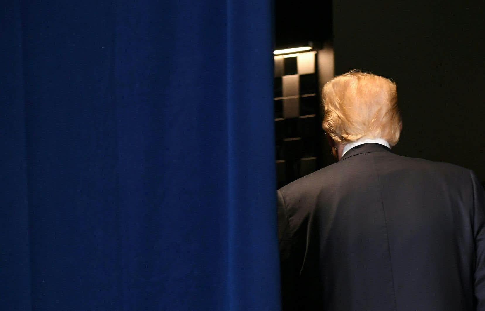 Le président américain, Donald Trump, s'est vanté samedi d'être capable de juger en cinq secondes de la valeur d'une personne.