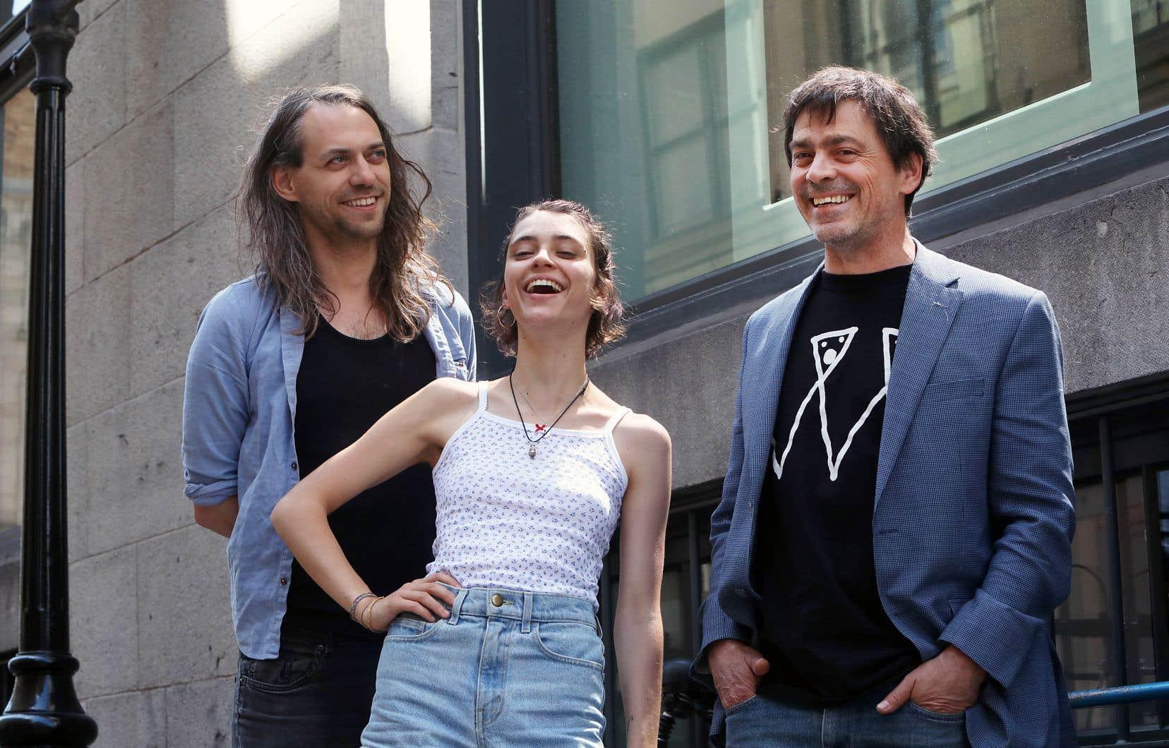 Antoine Corriveau, Pomme et Bruno Robitaille