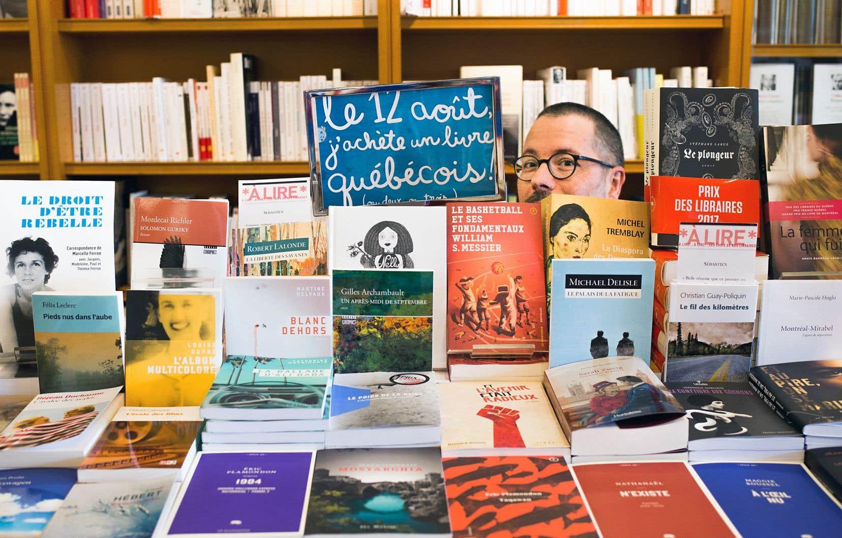 Selon le rapport annuel, les ventes au détail de livres au Québec ont augmenté de 6% en 2017.