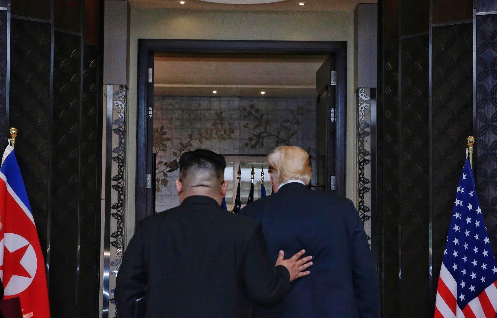 Trump et Kim se sont entretenus pendant près de cinq heures.