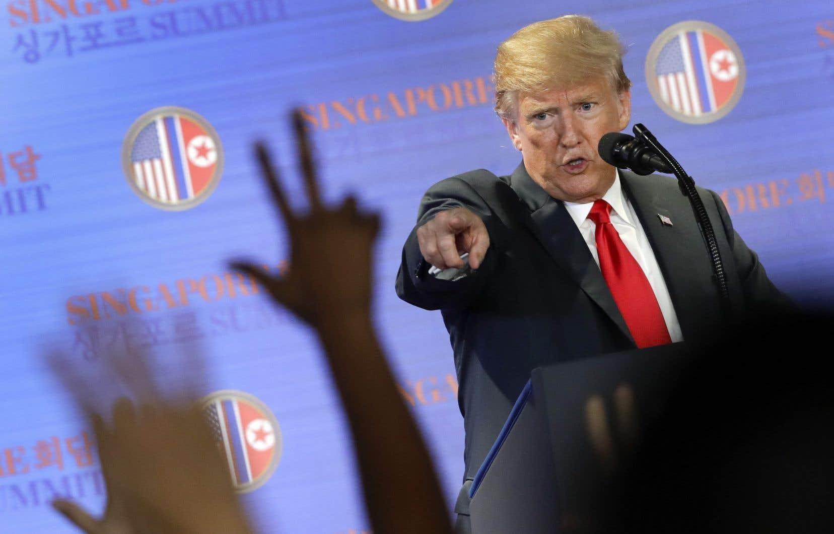 Le chef de la Maison-Blanche a déploré qu'à peu près tous les autres pays du G7 avaient profité de la générosité des États-Unis permise par ses prédécesseurs à la présidence.