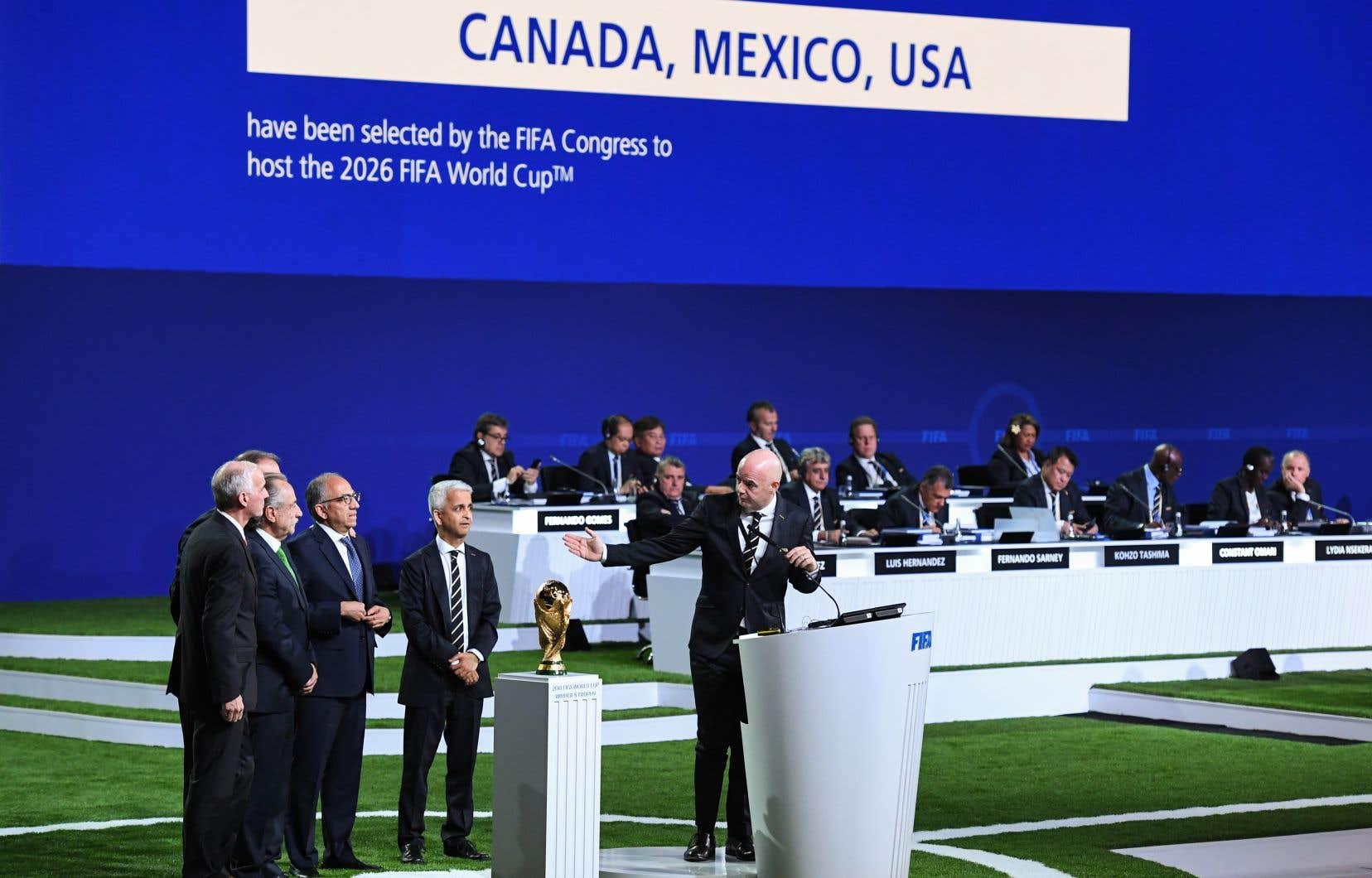 <p>La décision a été prise lors d'un vote tenu mercredi au congrès de la FIFA qui se déroule à Moscou.</p>