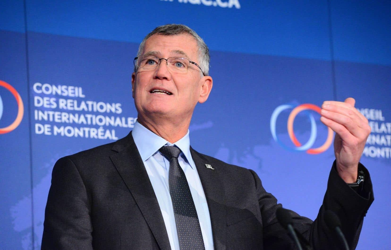 Pierre Gabriel Côté,président-directeur général d'Investissement Québec