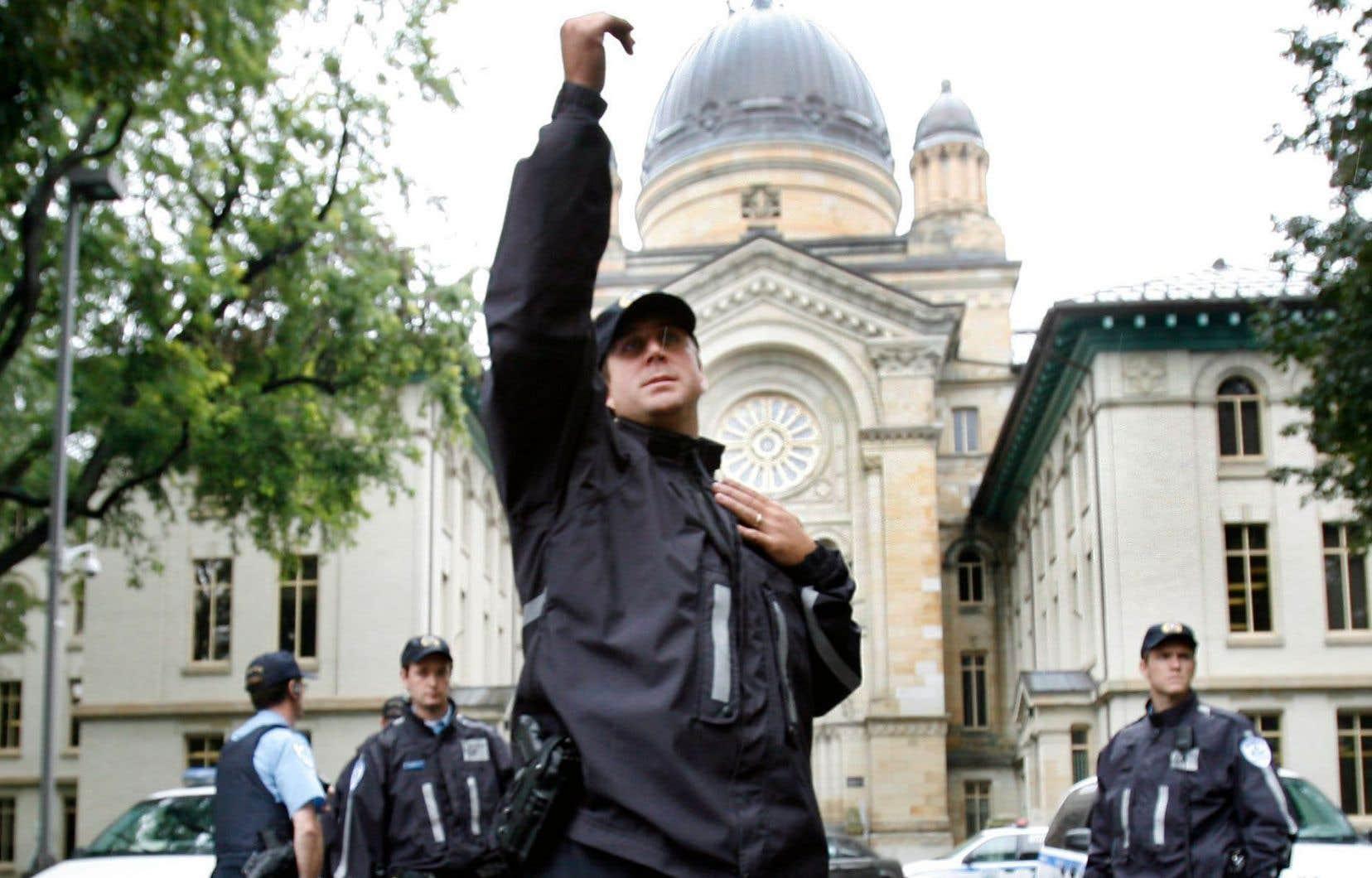 L'exercice de confinement a été développé en 2009, dans la foulée de l'attentat au Collège Dawson.