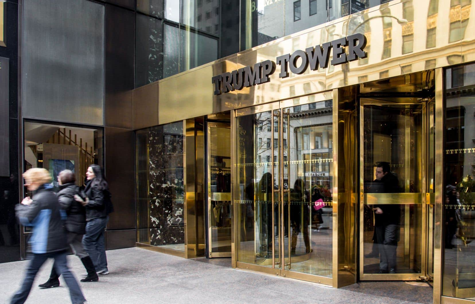 La Trump Organization est installée dans la Trump Tower, sur la 5eAvenue de Manhattan.